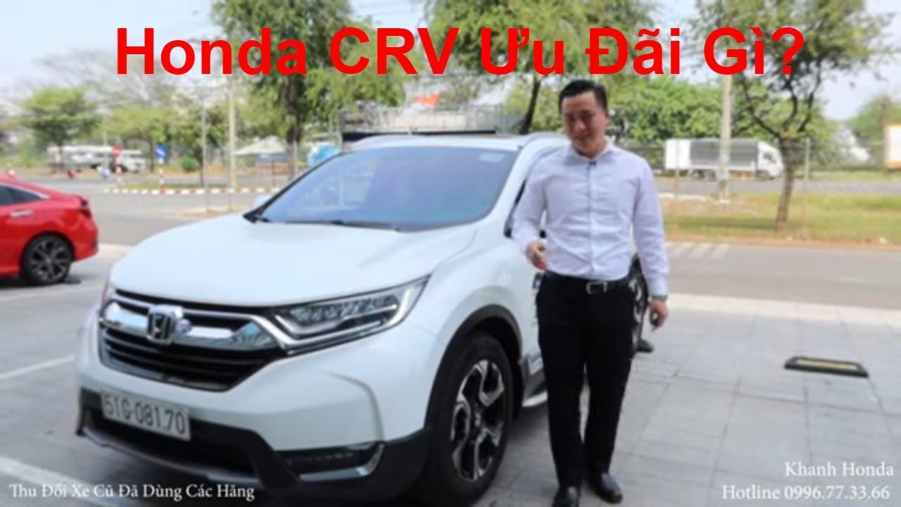 Ưu Đãi Giá Xe Honda CRV 2020 1.5L 09/2020. Mua Trả Góp Honda CRV 2021 7 Chỗ Bao Nhiêu Lăn Bánh