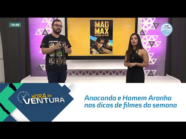 Hora do Cinema: Anaconda e Homem Aranha nas dicas de filmes da semana