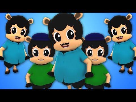 Baa Baa Schwarzes Schaf | Kinderreime auf Deutsch | Baby Lied | Schafreim | Baa Baa | 3D Kids Song