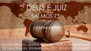 O TOLO, O MALVADO E O SOBERBO - Estudo do Salmo 75 (continuação) - Rev. Anatote Lopes - 14/10/2021