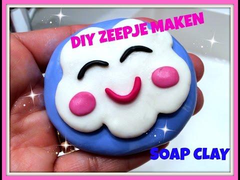 DIY: Happy Cloud Zeepje maken met Soap Clay!