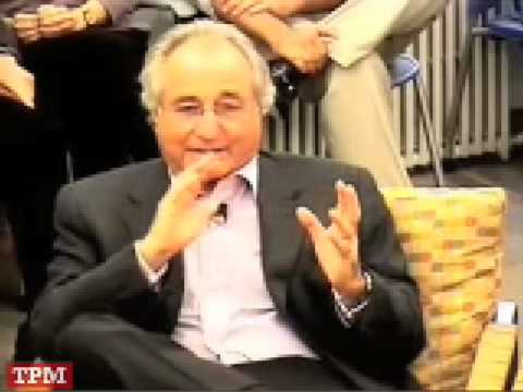 Roundtable Discussion With Bernard Madoff