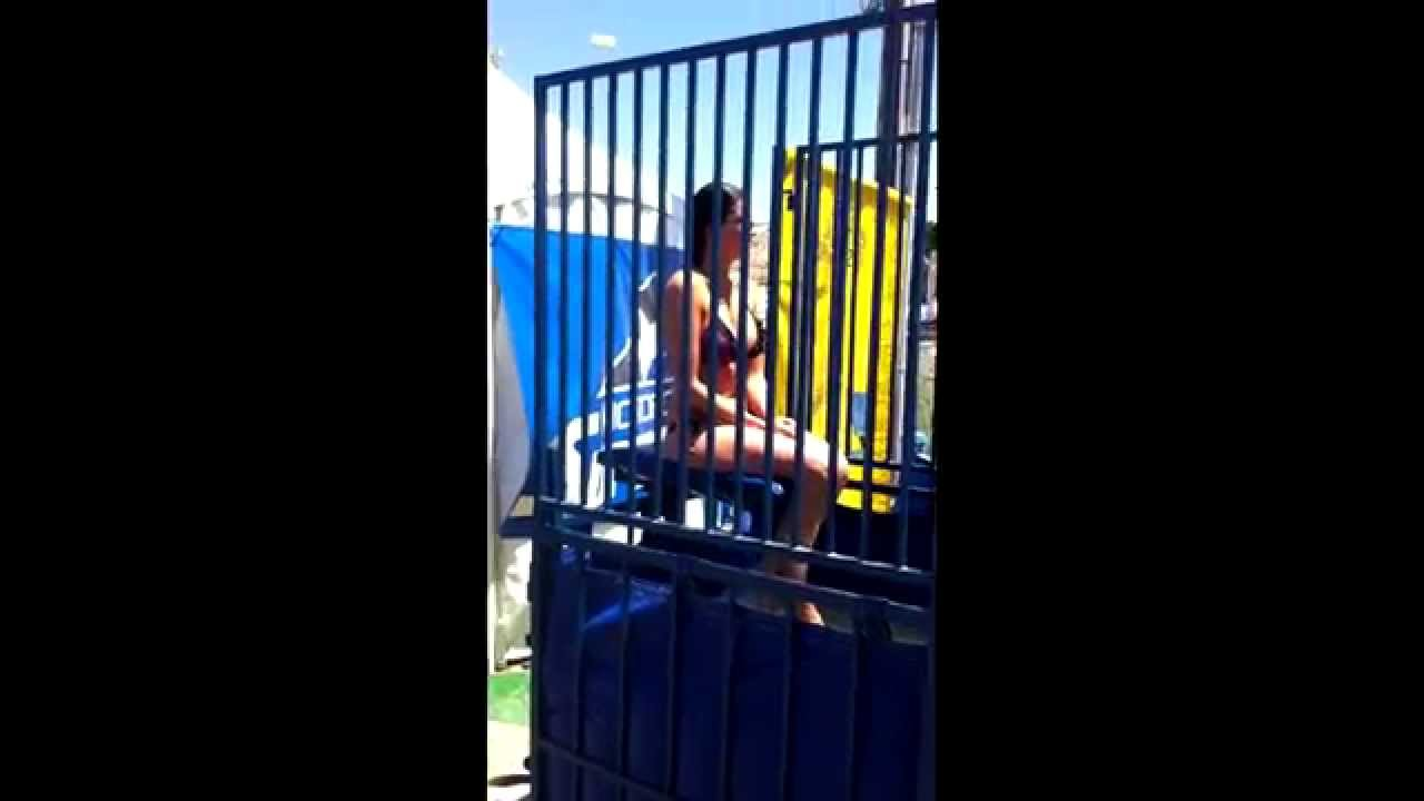 dunk tank hot girl