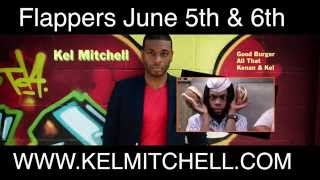 Kel Mitchell at Flappers Burbank June 5th & 6th with Mcphonz, Kingbach, Dana Moon and Grant Cotter