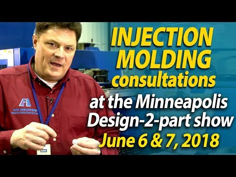 Free parts consultation at the Minneapolis Design-2-part show - Ash Industries