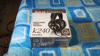 Unboxing: AKG K-240 Studio
