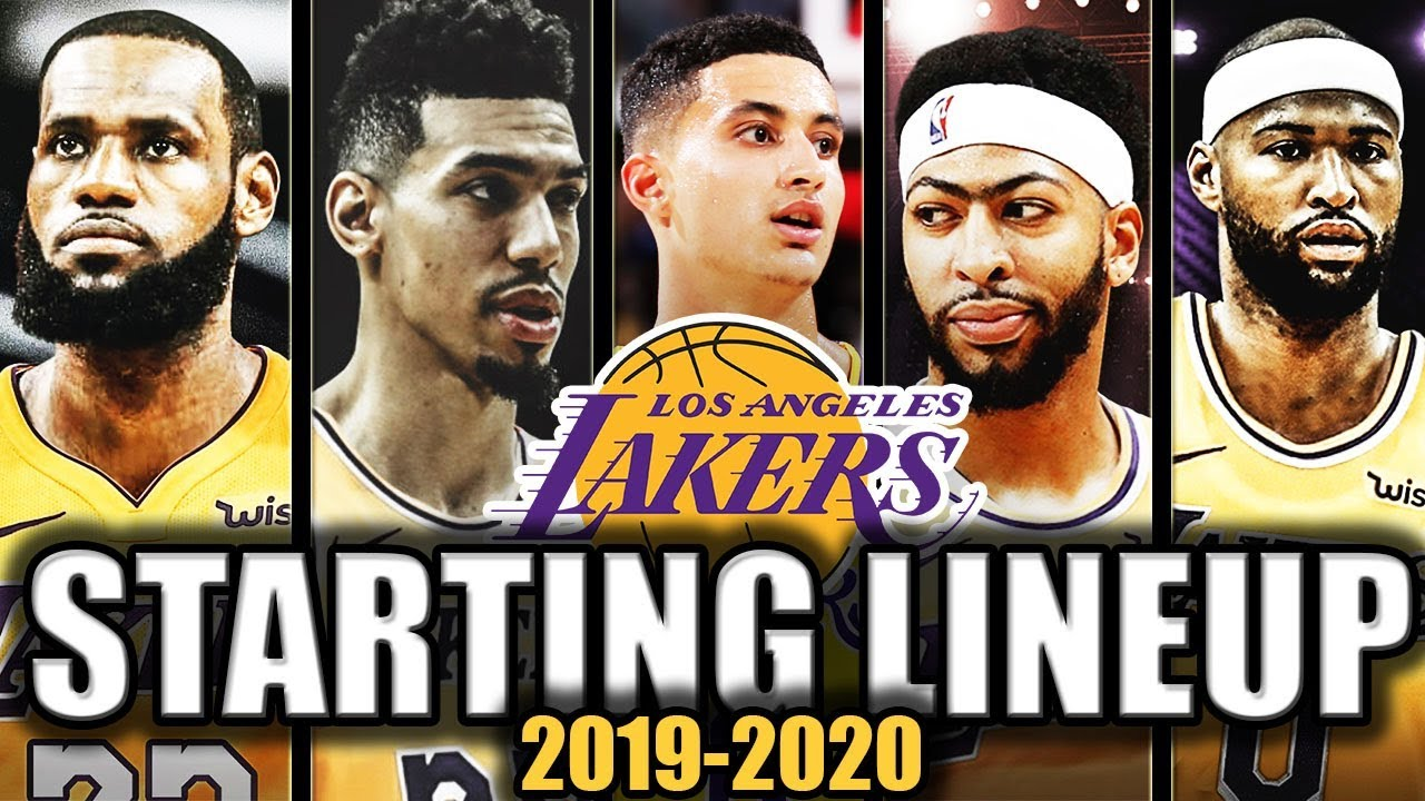 The Best Starting Lineup Options For The Los Angeles Lakers 2019 2020 Youtube