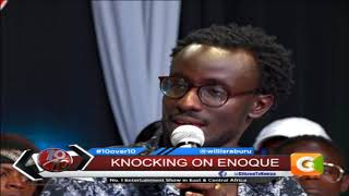 10 0VER 10 | Enoque Wambua Perfoms 'emptiness' on 10 over 10