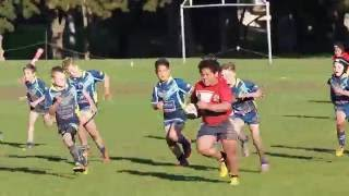 Kid Rugby Player is a Beast on the Field