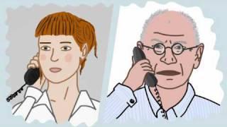 Telefonieren ist nicht immer leicht