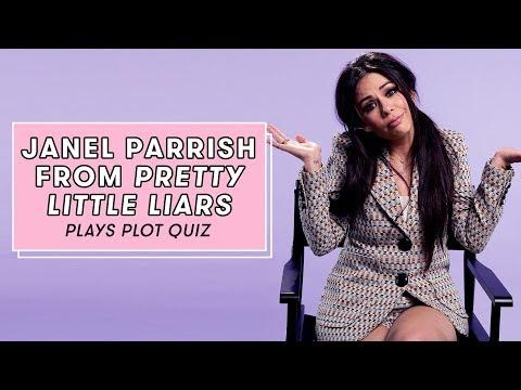Janel Parrish Plays Pretty Little Liars Plot Quiz | Plot Quiz