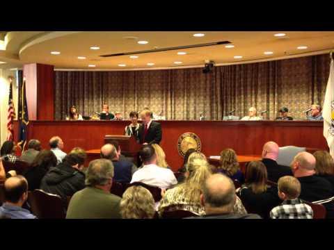Dennis Tyler First Speech as Mayor of Muncie, Indiana