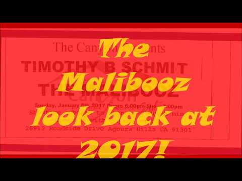 HAPPY NEW YEAR 2018 from THE MALIBOOZ!!