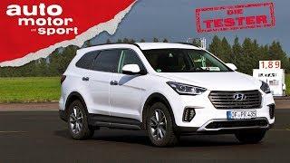 видео Hyundai Grand Santa Fe