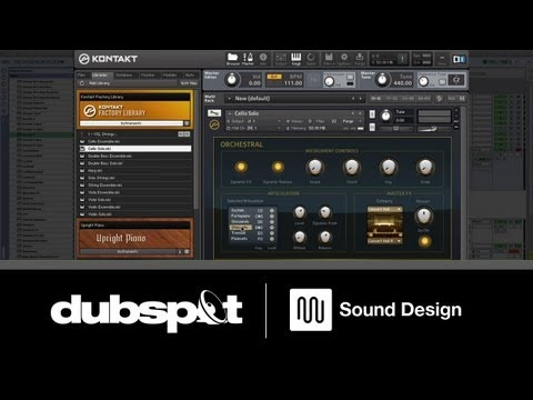 Sound Design Tutorial: Create Custom Scripts in Native Instruments' Kontakt