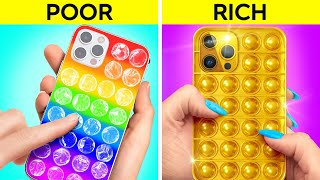 OH NO   AM BROKE Rich Hacks And Tricks To Become Popular By 123 GO GOLD