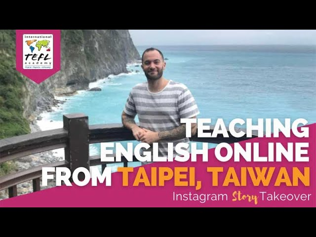 Day in the Life Teaching English Online from Taipei, Taiwan with Rob Viso