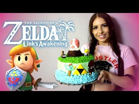 Create A Custom Zelda Link S Awakening Cake Youtube