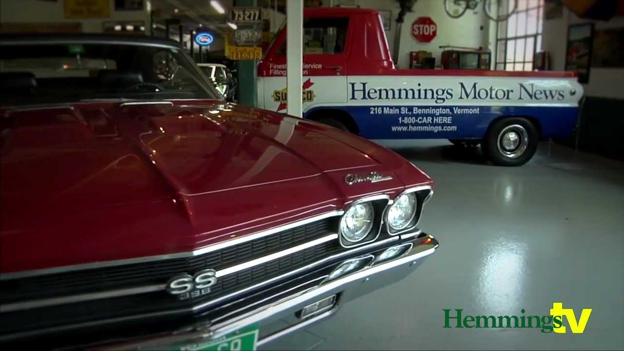 1969 Chevy Chevelle SS 396 - Hemmings Museum - YouTube