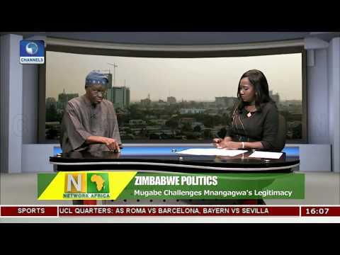 Mugabe Challenges  Mnangagwa's Legitimacy Pt.2  Network Africa 