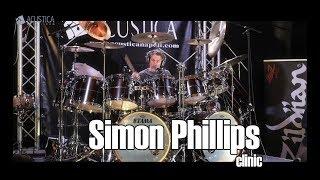 Simon Phillips clinic ACUSTICANAPOLI
