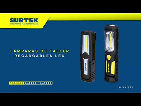 Lámparas para taller recargable LED Surtek URREA México thumbnail