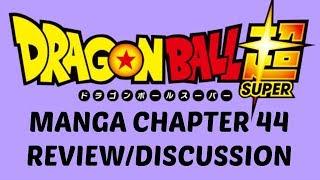 VEGETA VS MORO! Dragon Ball Super Manga Chapter 44