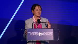 Conférence de Montréal: Remarques de clôture de Mme Ségolène Royal, présentée par Mme Magda Fusaro