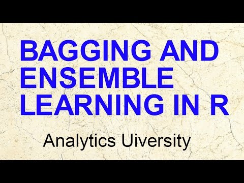Bagging & Ensemble Models| Bootstrap aggregation | Data Science in R