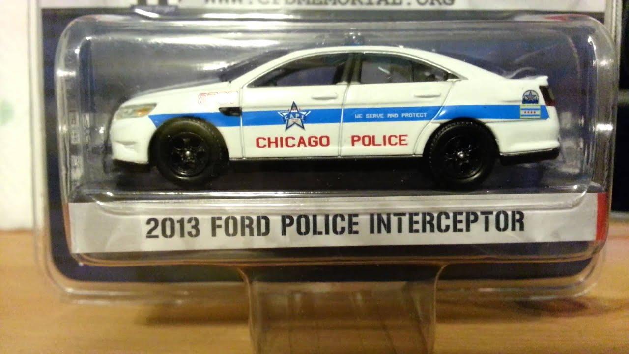 Greenlight Chicago Police 2013 Ford Police Interceptor
