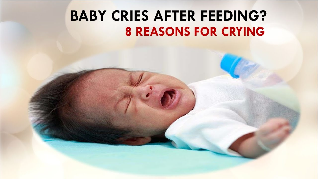 Baby Cries after feeding?_8 Reasons for Crying, you are not alone, colicky babies often curl their legs toward their abdomen, His pediatrician said being squirmy and fussy during and after feeding is a common response to the baby version of heartburn/acid reflux, - YouTube