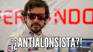 ¿Soy antialonsista?
