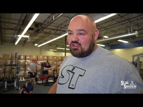 Visiting the New Super Training Gym w/ Mark Bell | Brian Shaw
