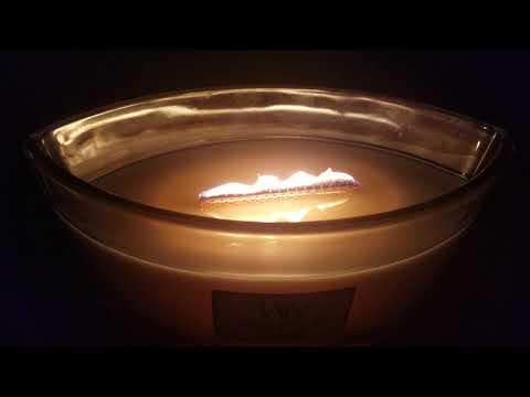 Yankee's Woodwick Ellipse Candles, White Teak