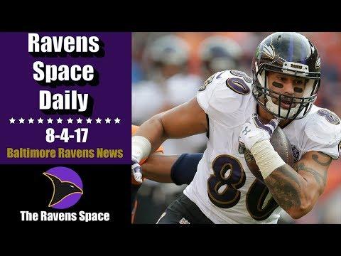 Ravens Cut Crockett Gillmore  8/4/17  Baltimore Ravens News