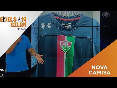 Edilson Silva diz que terceira camisa do Fluminense é  horrorosa  e clube  rebate em nota - Esporteemidia.com - Notícias do SporTV fa5aed77b5c06