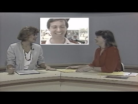 Dick Curtis Live at Panoply - WHNT-TV, 1986 - Jenny Carter & Jennifer Battle