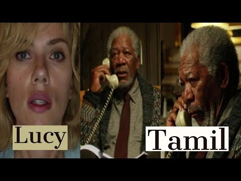 Conversation With Professor In Lucy Movie - Tamil - HD