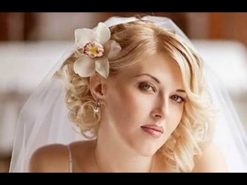 Wedding Hairstyles For Short Hair With Tiara And Veil Youtube