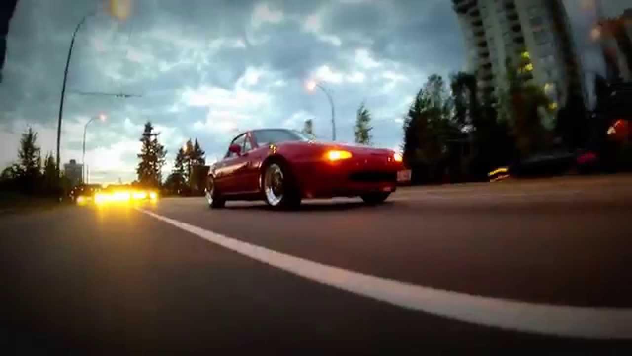 Vancouver Miata with Enkei Apache II rims - YouTube