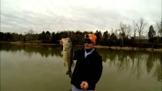 Deep with the Depth Charge - GoPro 2.7K Kayak Bass Fishing - EastTNFishing