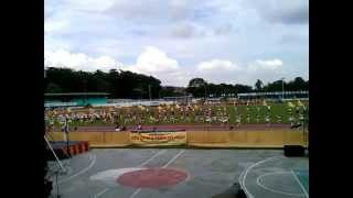 Libertad National High School Drum Corp and Pep Squad (10 minutes showdown)