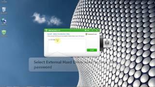 Lock External Hard Drive with Password