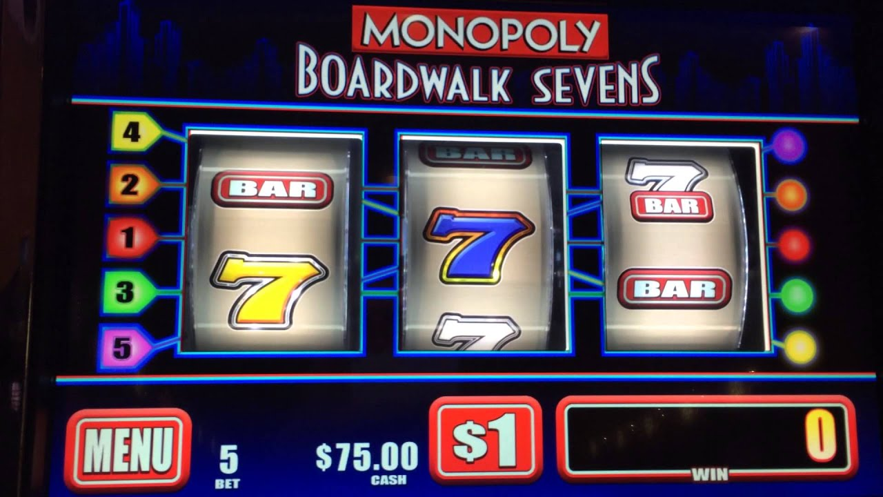 Monopoly boardwalk sevens slot machine learn to play craps in vegas