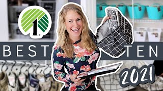 10 DOLLAR TREE SECRETS to organize your home like a pro in 2021!