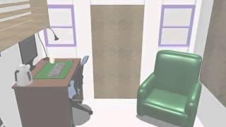 Tiny House Floor Plan And Furnishings