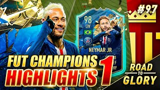TOTS NEYMAR IS JUST TOO GOOD! FUT CHAMPS ON THE ROAD TO GLORY! FIFA 20 ULTIMATE TEAM #97