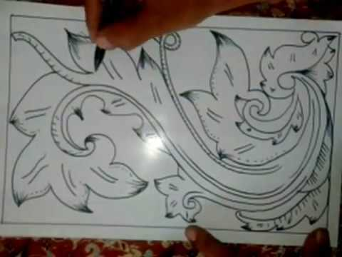 Cara Buat Batik Ornament Batik Pola Youtube