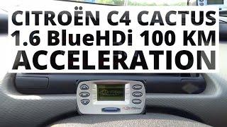 Citroen C4 Cactus 1.6 BlueHDi 100 hp (MT) – acceleration 0-100 km/h