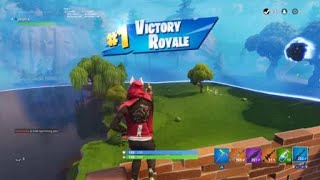 Clean Hunting Rifle Headshot for the Victory - Fortnite Battle Royale